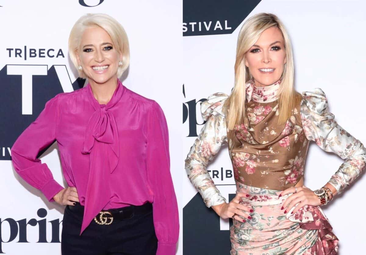 "RHONY Star Dorinda Medley Slams Tinsley Mortimer for ""Not Being Honest"" and ""Acting Like a Child,"" Plus She Suggests She Isn't a Good Housewife"