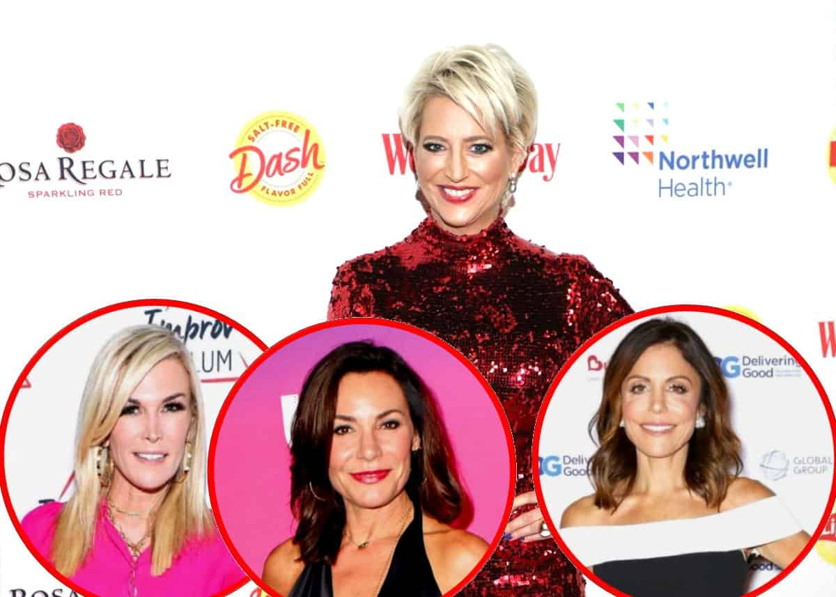"""Dorinda Medley Reveals the Real Reason for Her Feud With Tinsley Mortimer and Explains Why She Doesn't Believe Luann Was Ever an 'Alcoholic,' Talks Being """"Sad"""" Over Bethenny's Exit Plus RHONY Live Viewing Thread"""