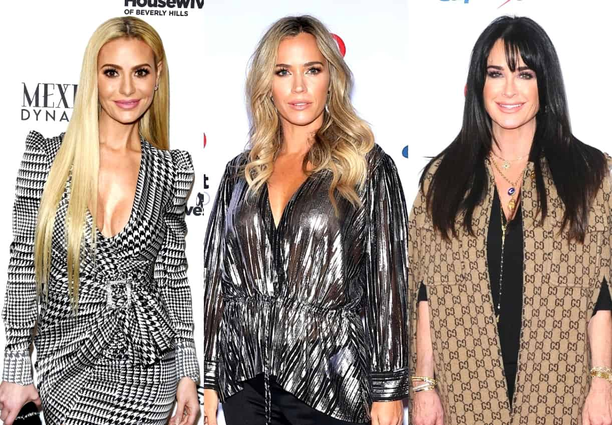 "RHOBH's Dorit Kemsley Calls Teddi Mellencamp ""Judgmental"" and Talks ""Disagreements"" With Kyle Richards, Plus She Reveals Sutton Got Off to a Rough Start"