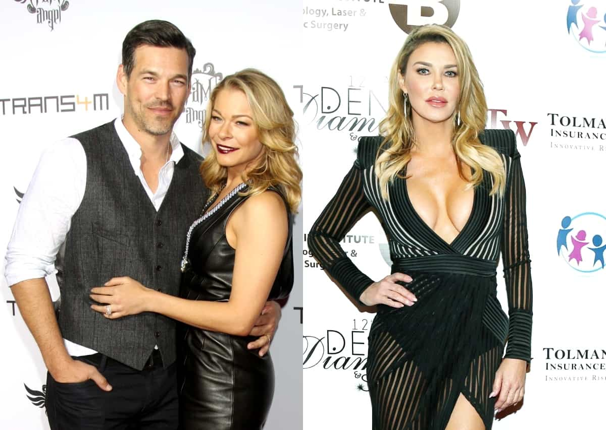 How Do Eddie Cibrian and Leann Rimes Feel About Brandi Glanville Calling Them Out on Twitter? Plus Why Brandi Went Public