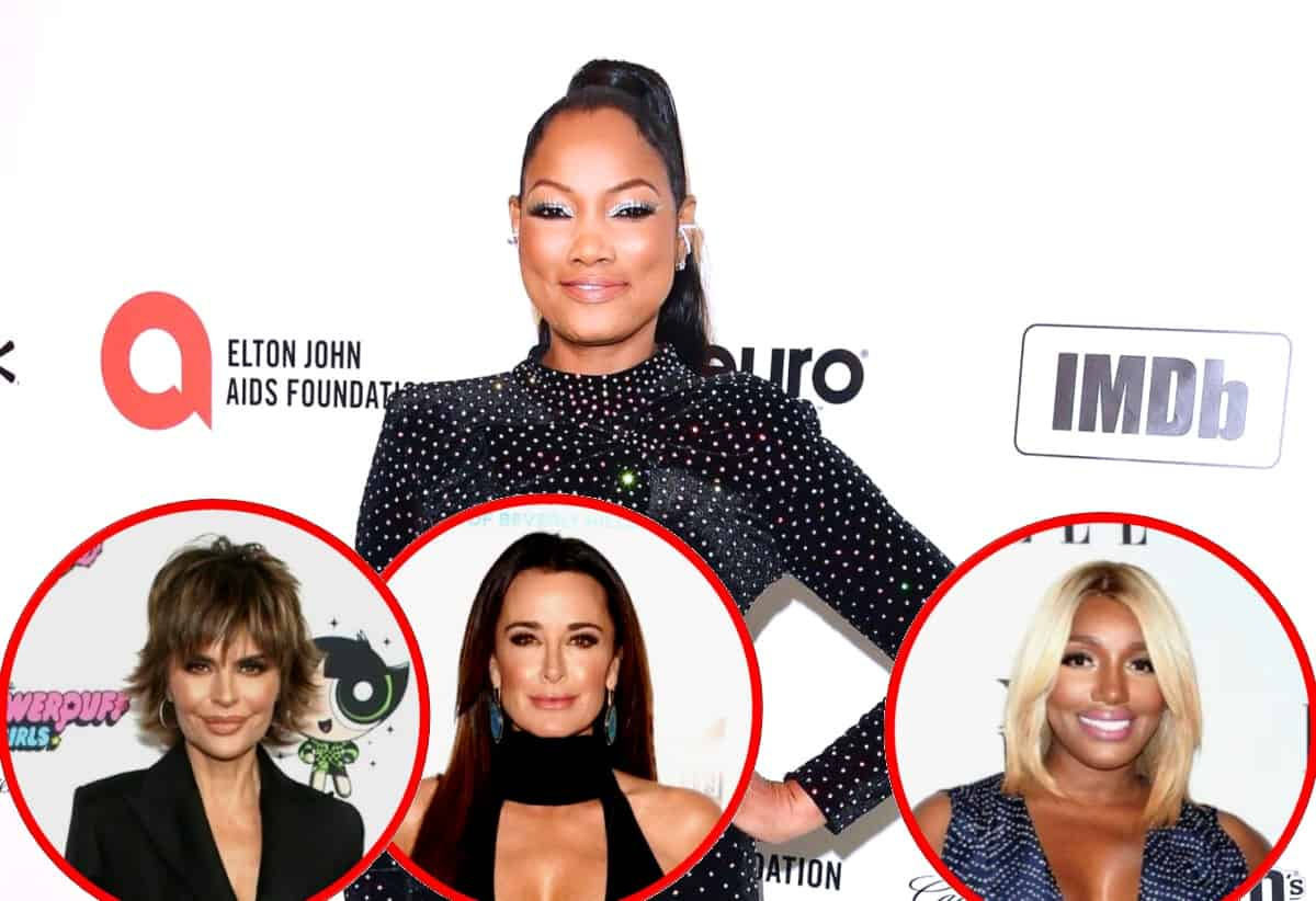"RHOBH's Garcelle Beauvais Claims Lisa Rinna is ""Different on the Show"" and Shades Kyle Richards as ""Meh,"" Plus Reveals the Warning She Got From RHOA's Nene Leakes and Says She's 'Team Denise'"