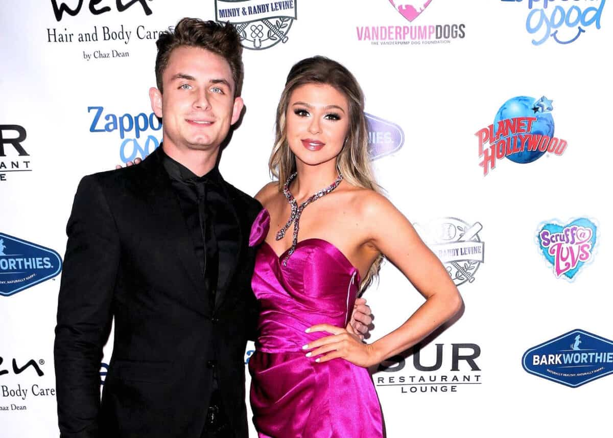 Vanderpump Rules Star Raquel Leviss Reveals How a One Night Stand With James Kennedy Turned Into a Relationship, Dishes on How They Met and if Marriage is in the Works
