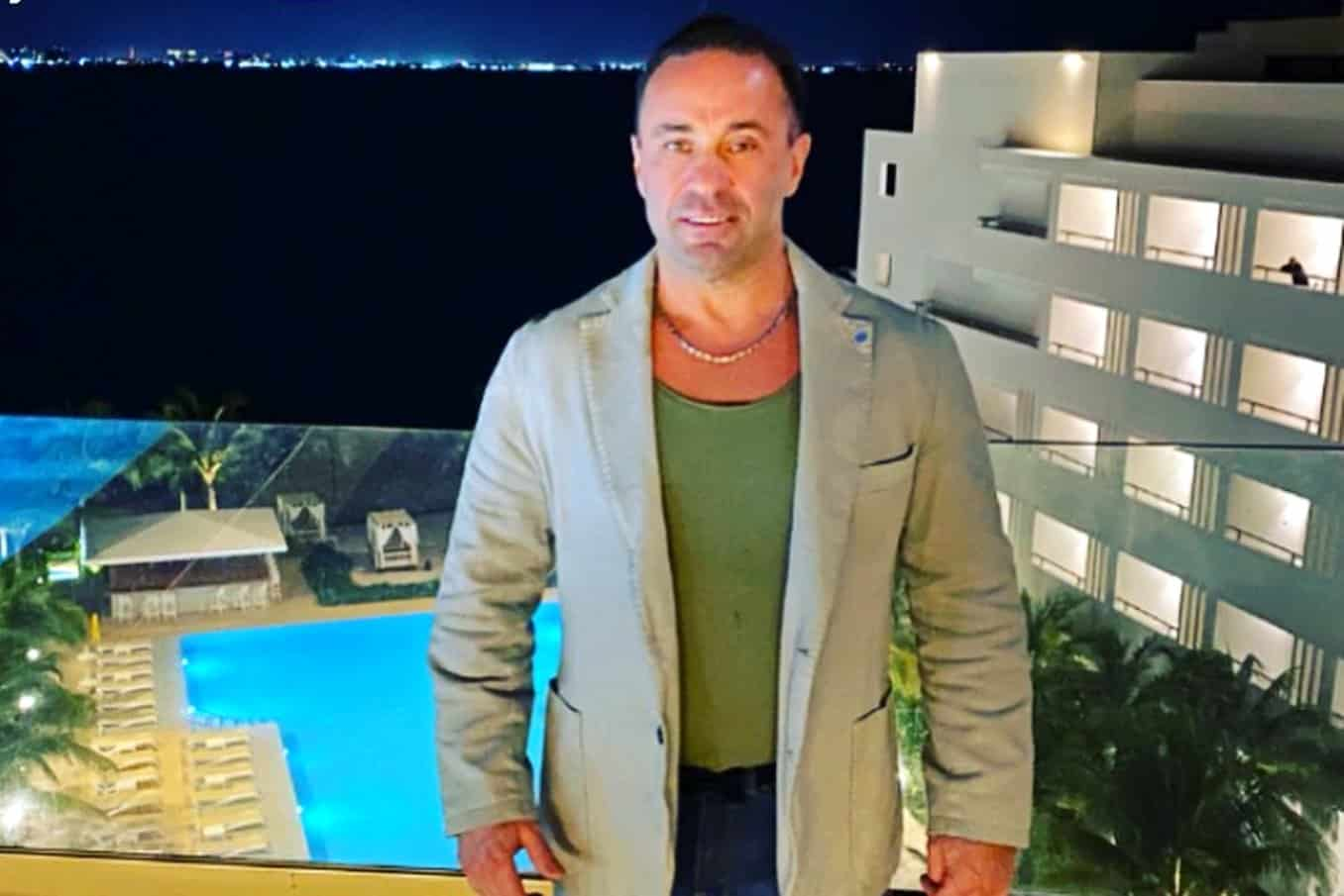 RHONJ'S Joe Giudice Has Reunited With His Daughters In Italy For The First Time In A Year, See Their Sweet Reunion Pics