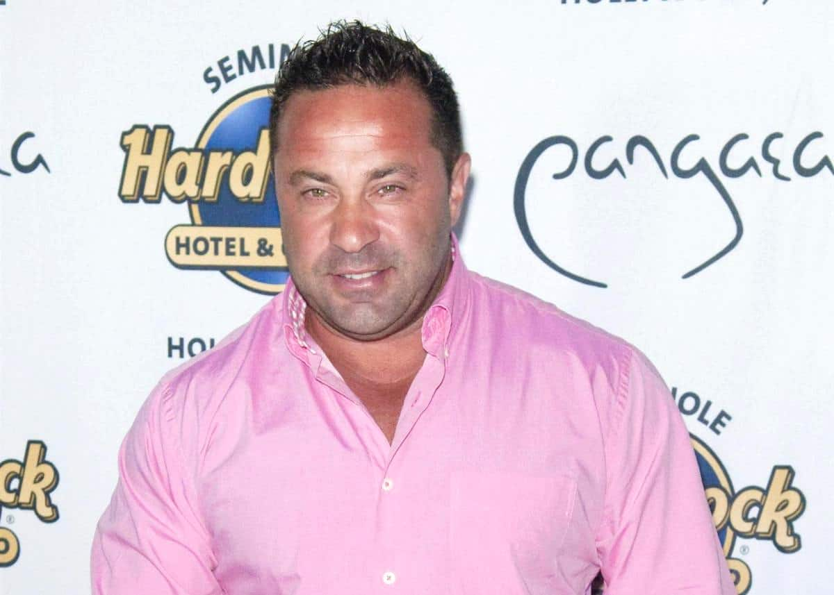 Has RHONJ's Joe Giudice Revealed His New Girlfriend? See The Photo And A Video Of The Mystery Woman
