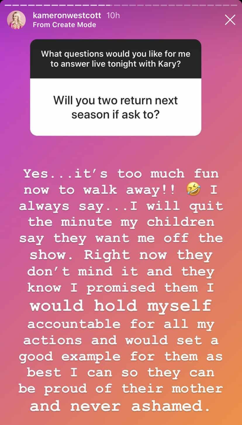 Kameron Westcott and Kary Brittingham Will Return for RHOD Season 5