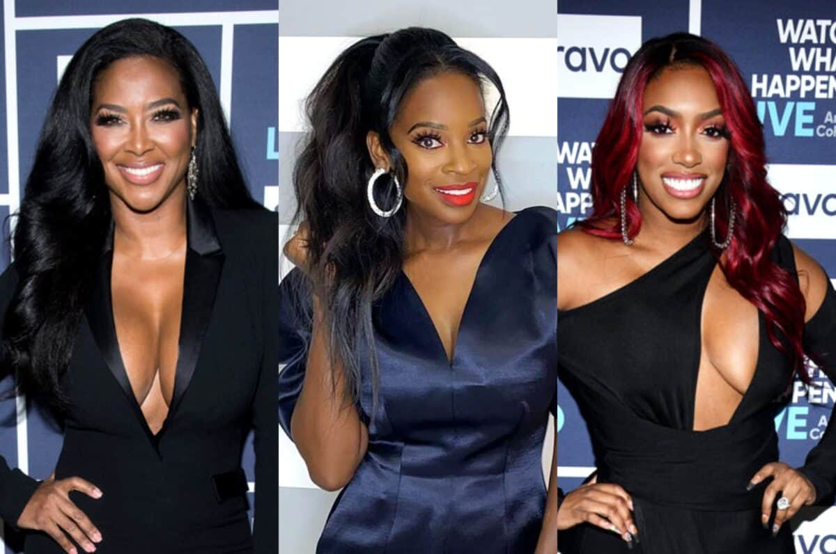 RHOA's Kenya Moore Leaks Text Messages From Shamea Morton to Dispute Porsha Williams' Claim That She Lied About Shamea Texting Her After Her Water Broke, See the Texts!