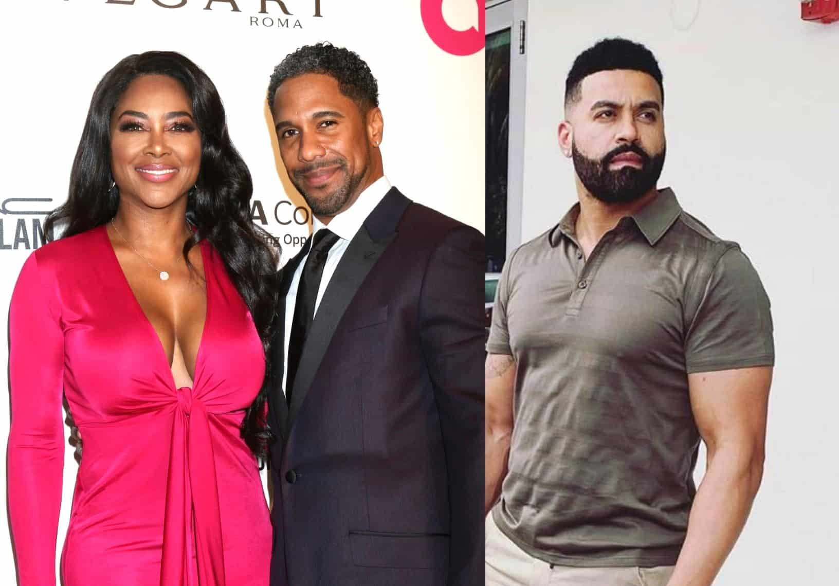 RHOA Star Kenya Moore Reacts to Apollo Nida Bashing Marc Daly and Clarifies Why She Can't Communicate With Marc's Parents, Plus She Says Marc Wants to Work on Their Marriage
