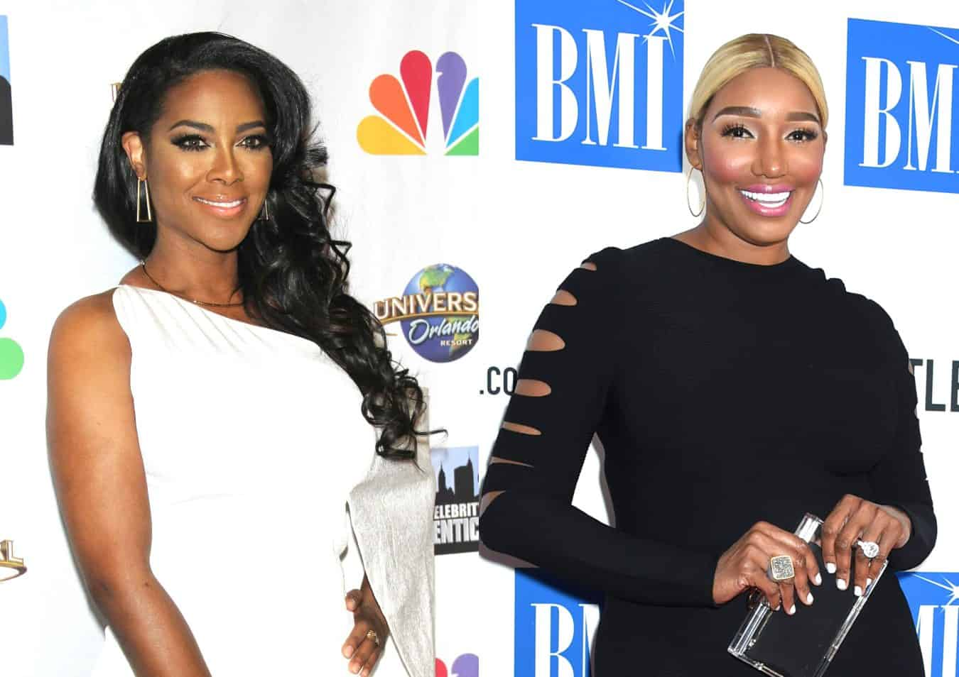 "RHOA Star Kenya Moore Slams Nene Leakes Over Shocking Accusation About Her Baby and Marriage, Calls Nene a ""Vile Person"""