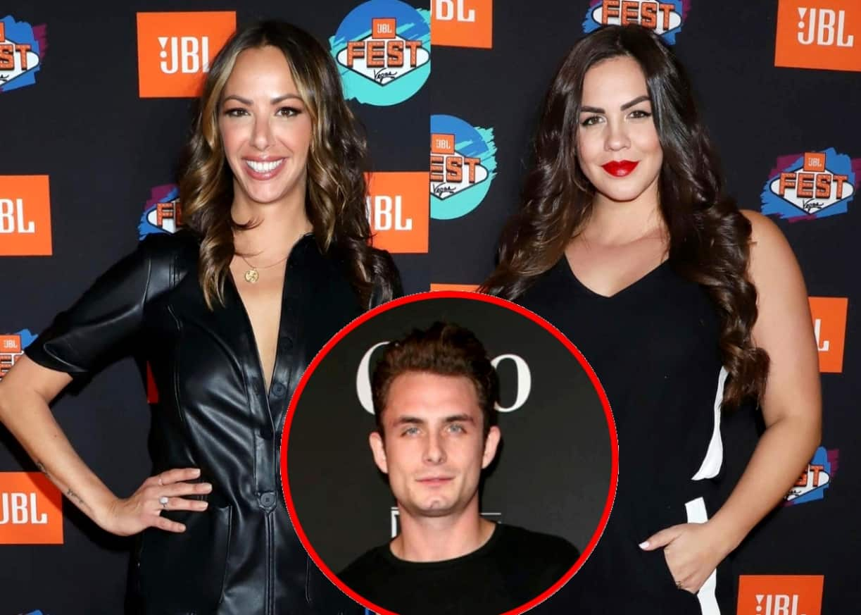 """Vanderpump Rules Star Kristen Doute Calls Katie Maloney """"Full of S--t"""" For Befriending James Kennedy, Plus She Reveals if She Still Speaks to Ex Brian Carter and Why She's Keeping Her New Relationship Private"""