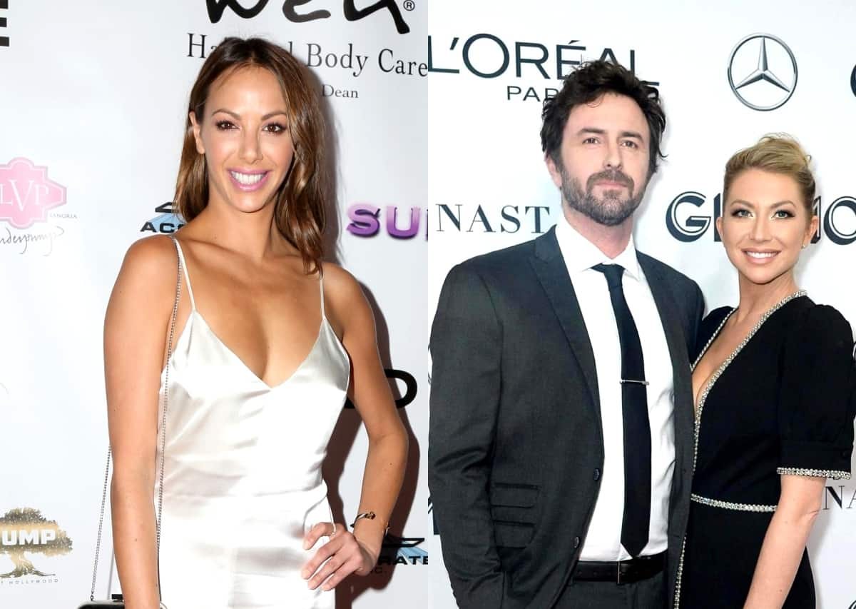 """Vanderpump Rules' Kristen Doute Accuses Stassi Schroeder of Throwing a """"Temper Tantrum"""" Over Beau Clark Friendship and Treating Her Like a Child, Plus Claims Stassi Was Trying to """"Control"""" Beau Before Engagement"""