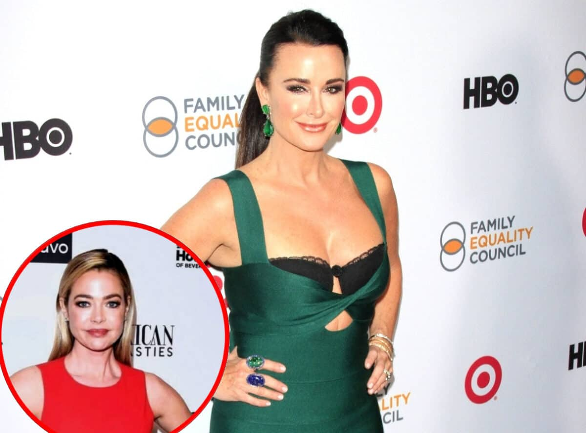 "Kyle Richards Reveals the Reason She's in Fewer Scenes on New RHOBH Season, Slams Denise Richards for ""Rookie Move"" and Shares Why Producers Broke the Fourth Wall Over Denise's Drama"
