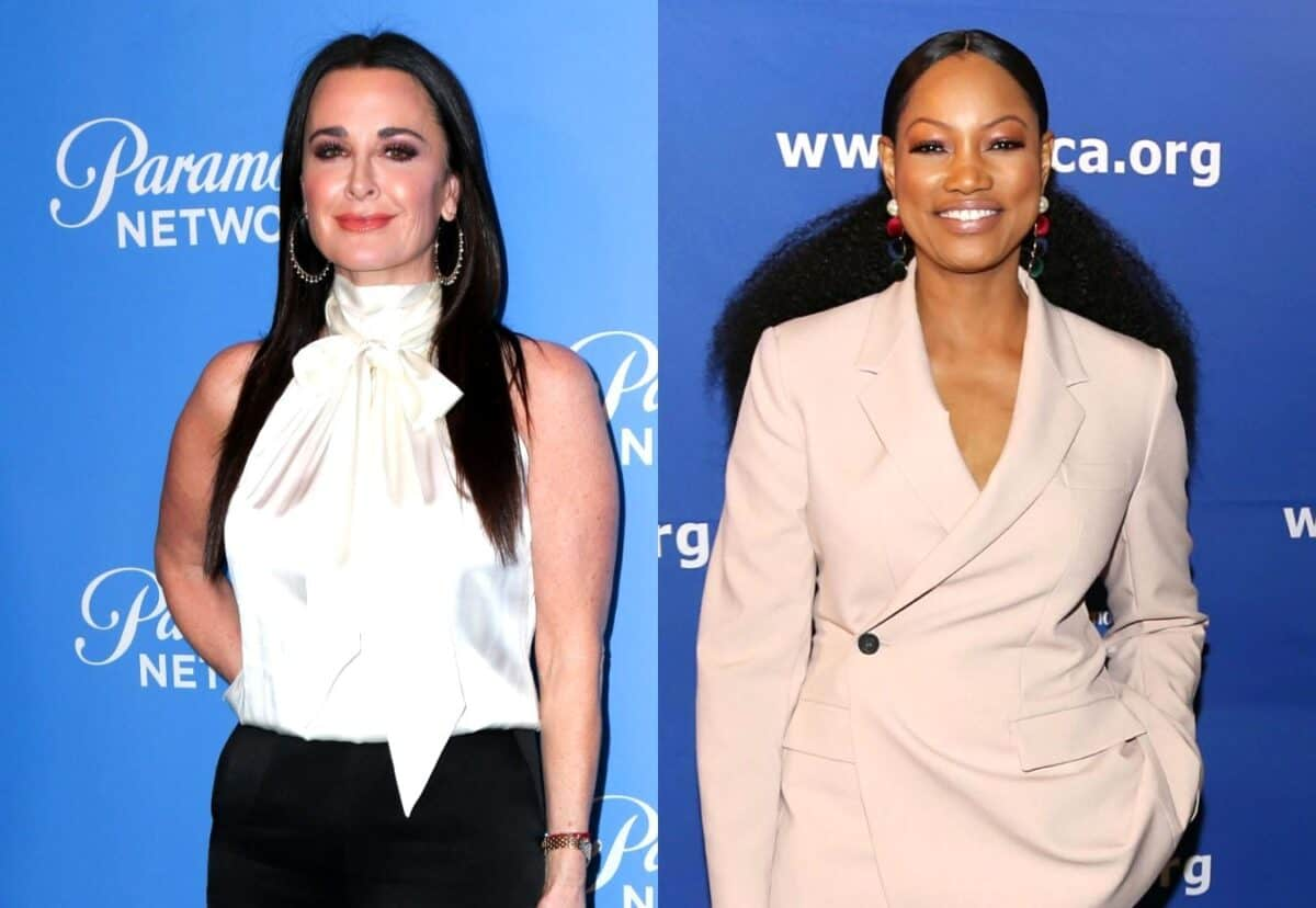 "Kyle Richards Responds to 'Goodbye Kyle' Diss by Garcelle Beauvais, Says She's Been ""Nothing But Kind"" to RHOBH Costar and Suggests Garcelle is Trying to Create a Fake Feud"