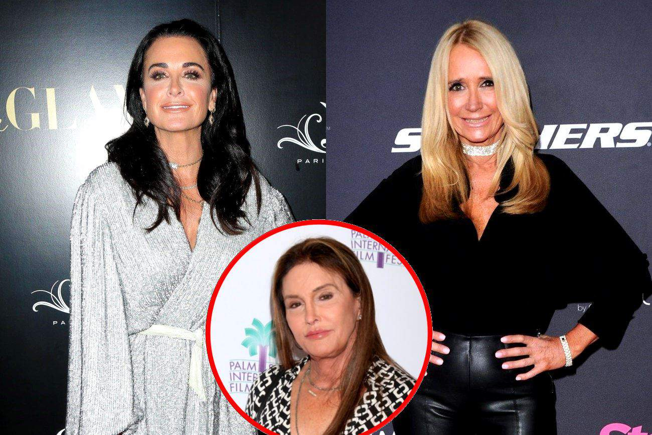 "Kyle Richards Opens Up About Kim Richards' ""Difficult"" Time With Quarantine, Reacts to Caitlyn Jenner Wanting to Join RHOBH and Talks Kim's Memoir"