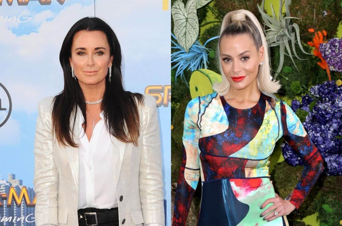 RHOBH's Kyle Richards Claps Back at Dorit Kemsley, Says Dorit Did Not Save Her Show and Denies Just Putting Her Name on Clothing Line as Dorit Responds