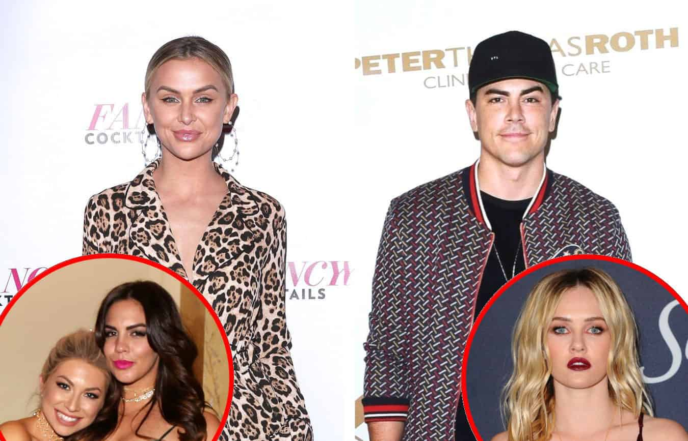 Lala Kent Fires Back at Tom Sandoval's Claim That She 'Faked Friendship' With Stassi and Katie, Shares Update on Relationship With Ambyr Childers