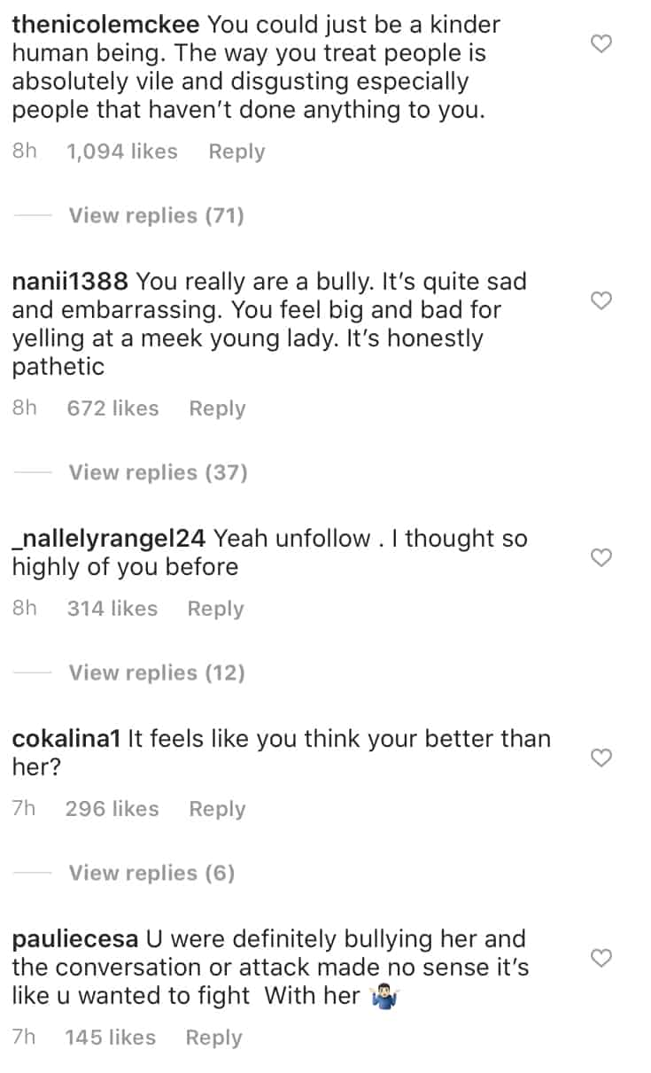 Vanderpump Rules Lala Kent's Fans Slam Her as a Bully, Say She's Vile and Disgusting