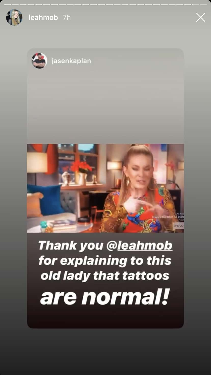 RHONY Leah McSweeney Slams Sonja Morgan as Old for Tattoo Diss
