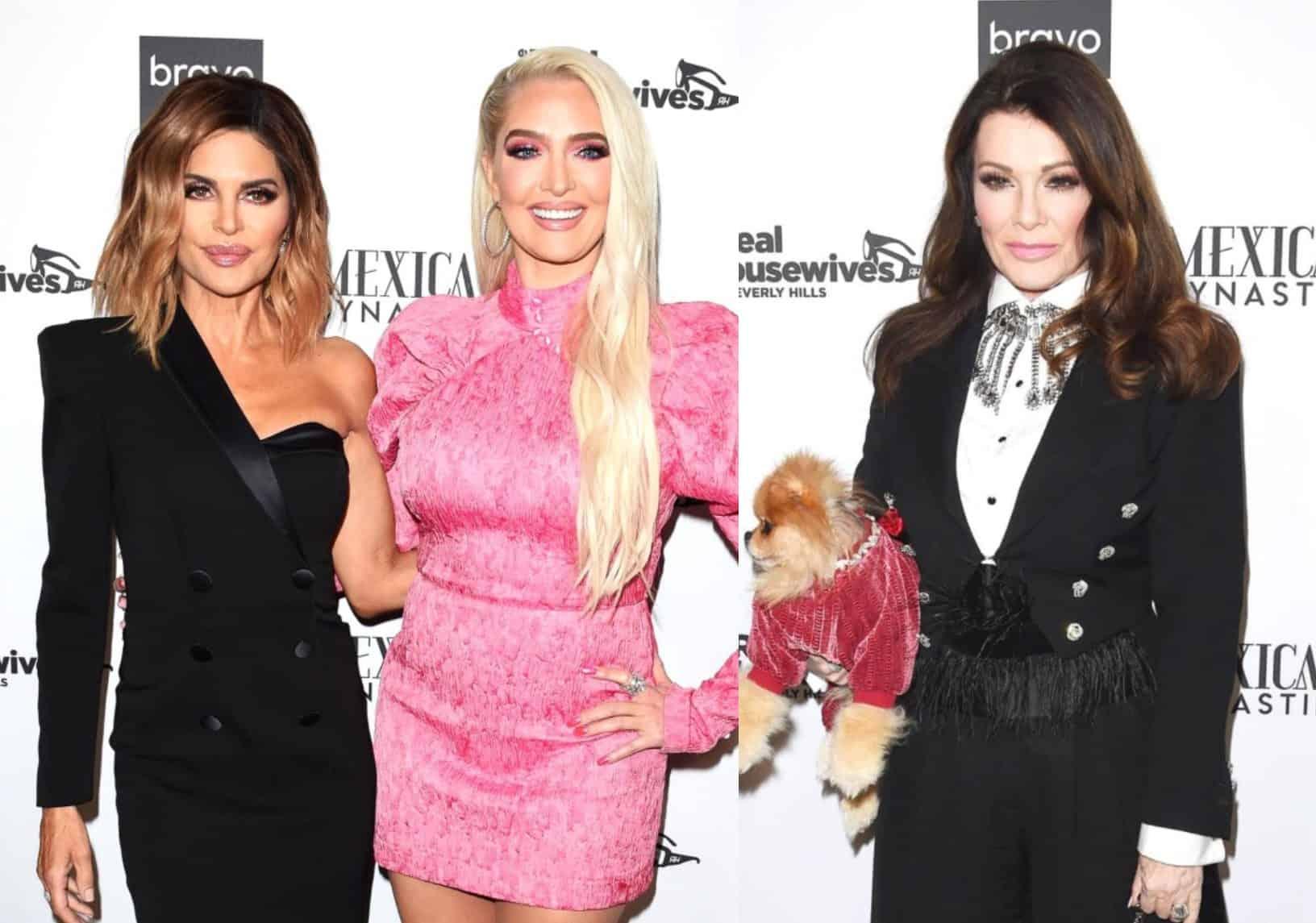 """RHOBH Stars Lisa Rinna and Erika Jayne Throw Shade at Lisa Vanderpump Ahead of Season 10 Premiere, Suggest Her Crown is """"Not That Heavy"""" as Teddi Weighs In"""