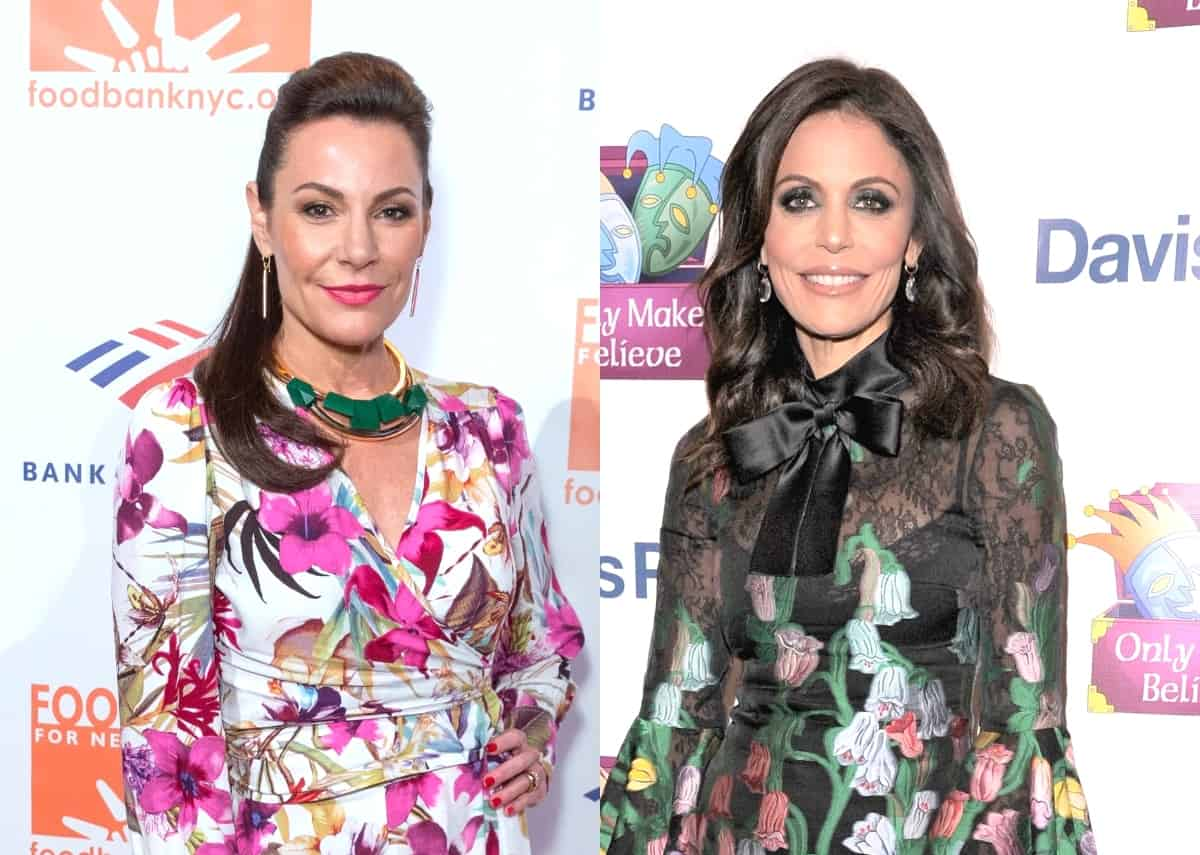 """Luann de Lesseps Claps Back at Bethenny Frankel for Dissing RHONY's Ratings and Encourages Her to Move on, Plus She Says Her """"Rough"""" Years Are Over"""""""
