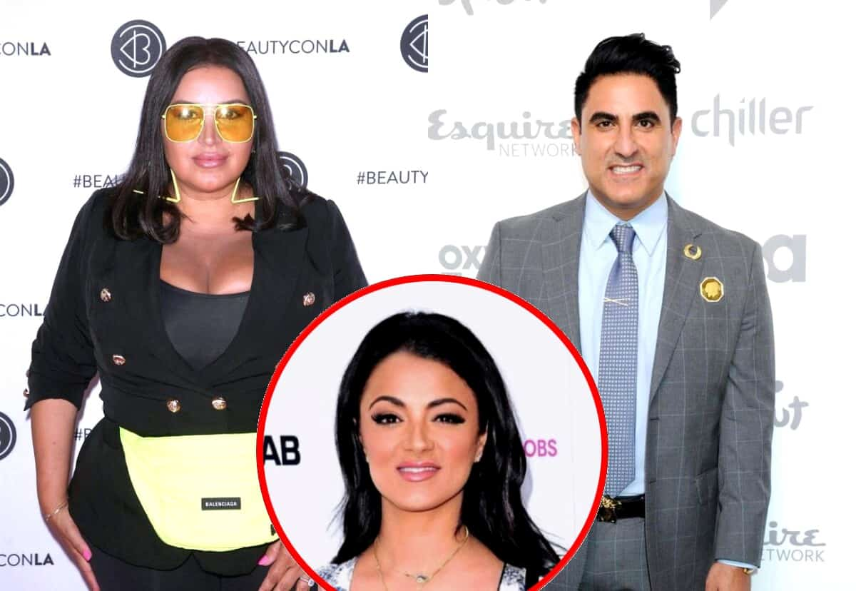"Shahs of Sunset Star Mercedes ""MJ"" Javid Reveals Her Regrets When it Comes to Feud With Reza Farahan, Plus Why She Wants to ""Mend Fences"" with GG"