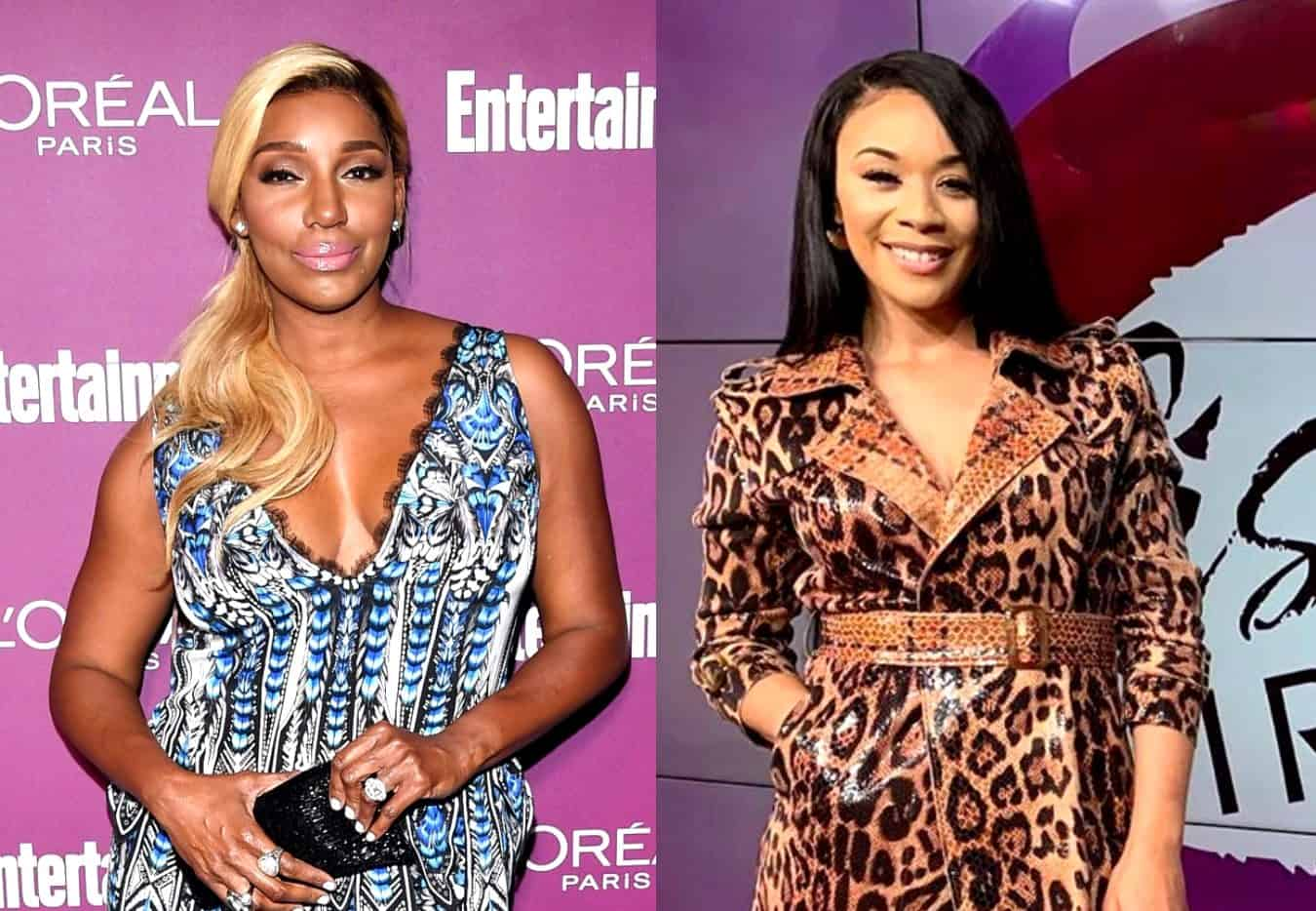 """Nene Leakes Dishes on RHOA Reunion Drama and Claims Yovanna Momplaisir Lied to Be on the Show as Yovanna Addresses Her Feud With Nene Over """"Snakegate"""" and Says She's """"Not Afraid"""" of Her"""