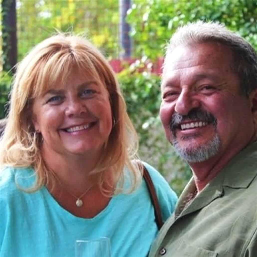 Peter Gamba and Jeanne Gamba