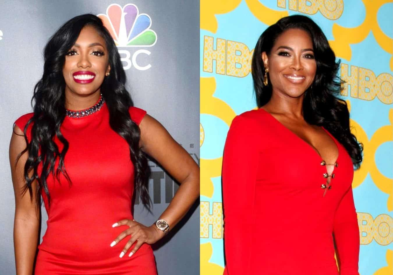 RHOA's Porsha Williams and Kenya Moore Feud Online Over Claim Porsha's Activism is For a Storyline as Kenya Claps Back, Plus Porsha Shuts Down Rumor Claiming She Twerked at a Protest