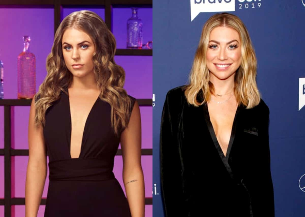 """Vanderpump Rules' Danica Dow Slams Stassi Schroeder for """"Insulting"""" and """"Insensitive"""" Joke About the Pandemic After She Offers to Return to SUR Restaurant"""