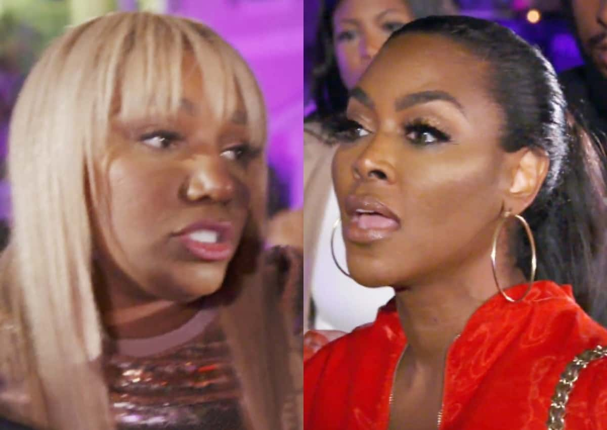 RHOA Finale Recap: Nene and Kenya Butt Heads at Kandi's Baby Shower and Mama Joyce is a No-Show!
