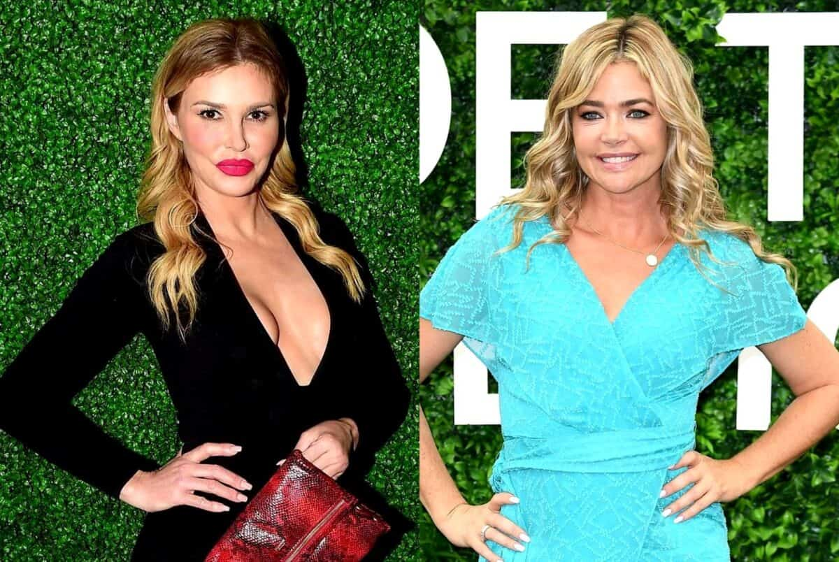 "Brandi Glanville Demands Denise Richards ""Take Responsibility"" For Alleged Affair as Denise Tells Lisa Rinna Brandi Made Up Rumors For ""Shock Value"" Plus RHOBH Live Viewing Thread!"
