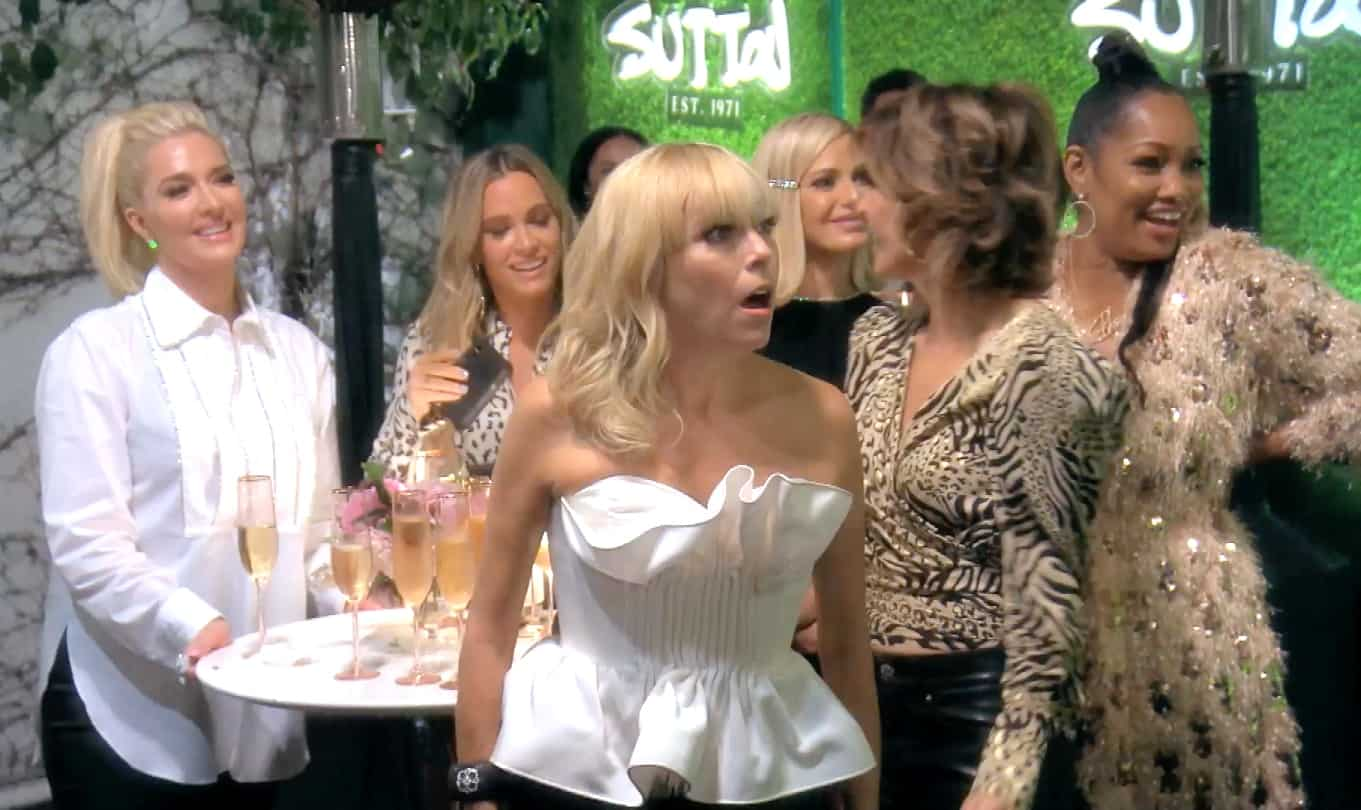 The RHOBH Recap: Teddi's Retreat Invitation Ruffles Feathers at Sutton's Store Opening Event