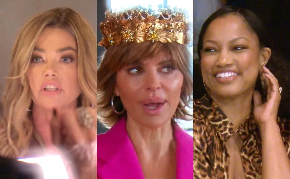 The RHOBH Premiere Recap: Denise's Decision to Stop Filming With Cast is Previewed as Lisa Rinna Dons LVP's Crown Plus We Meet Garcelle!