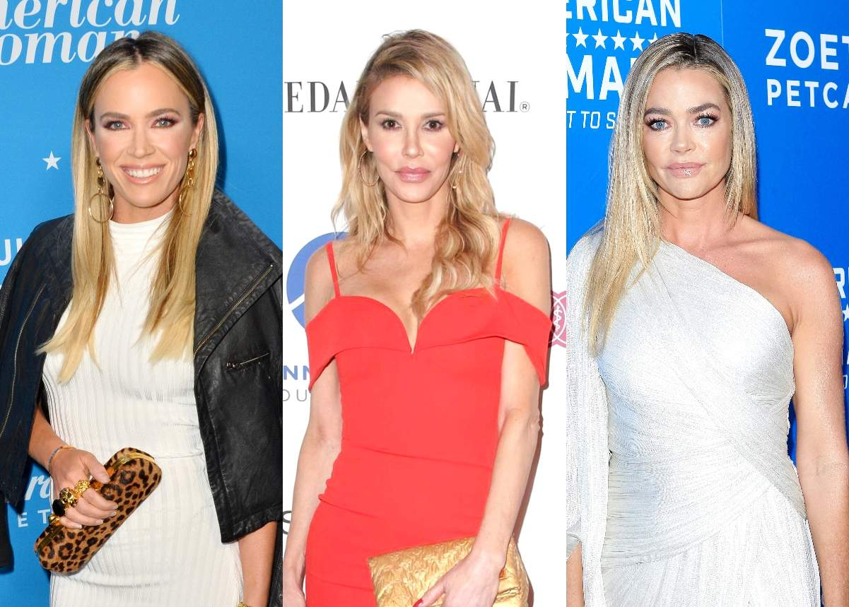 RHOBH Stars Teddi Mellencamp and Brandi Glanville Call Out Denise Richards for How She Treated Waiter as Denise Offers an Apology