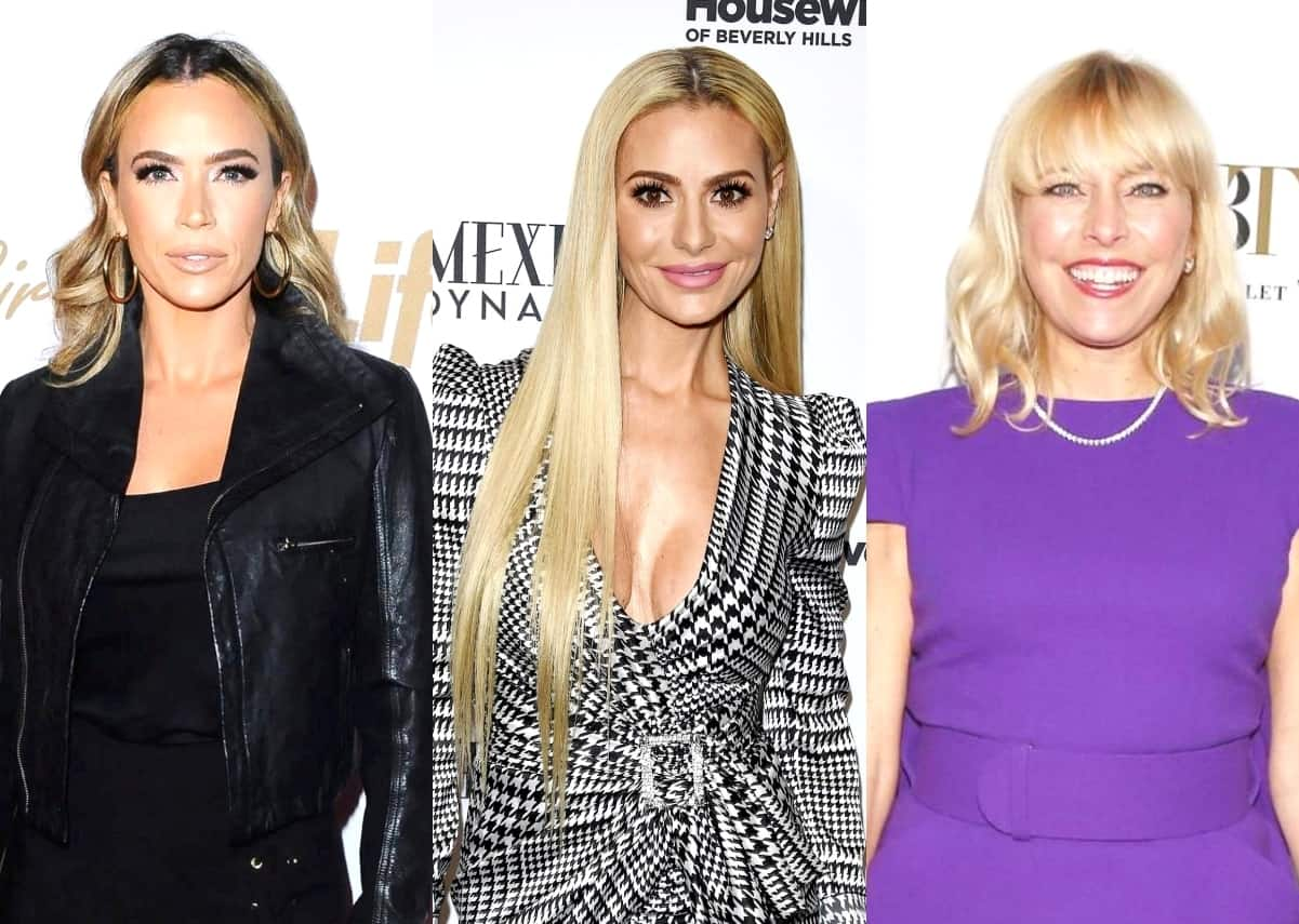 """RHOBH Star Teddi Mellencamp Feuds with Dorit Kemsley on Twitter, Throws Shade at Sutton Stracke for """"Cheap Shots"""" and Explains What Comment Got to Her the Most"""