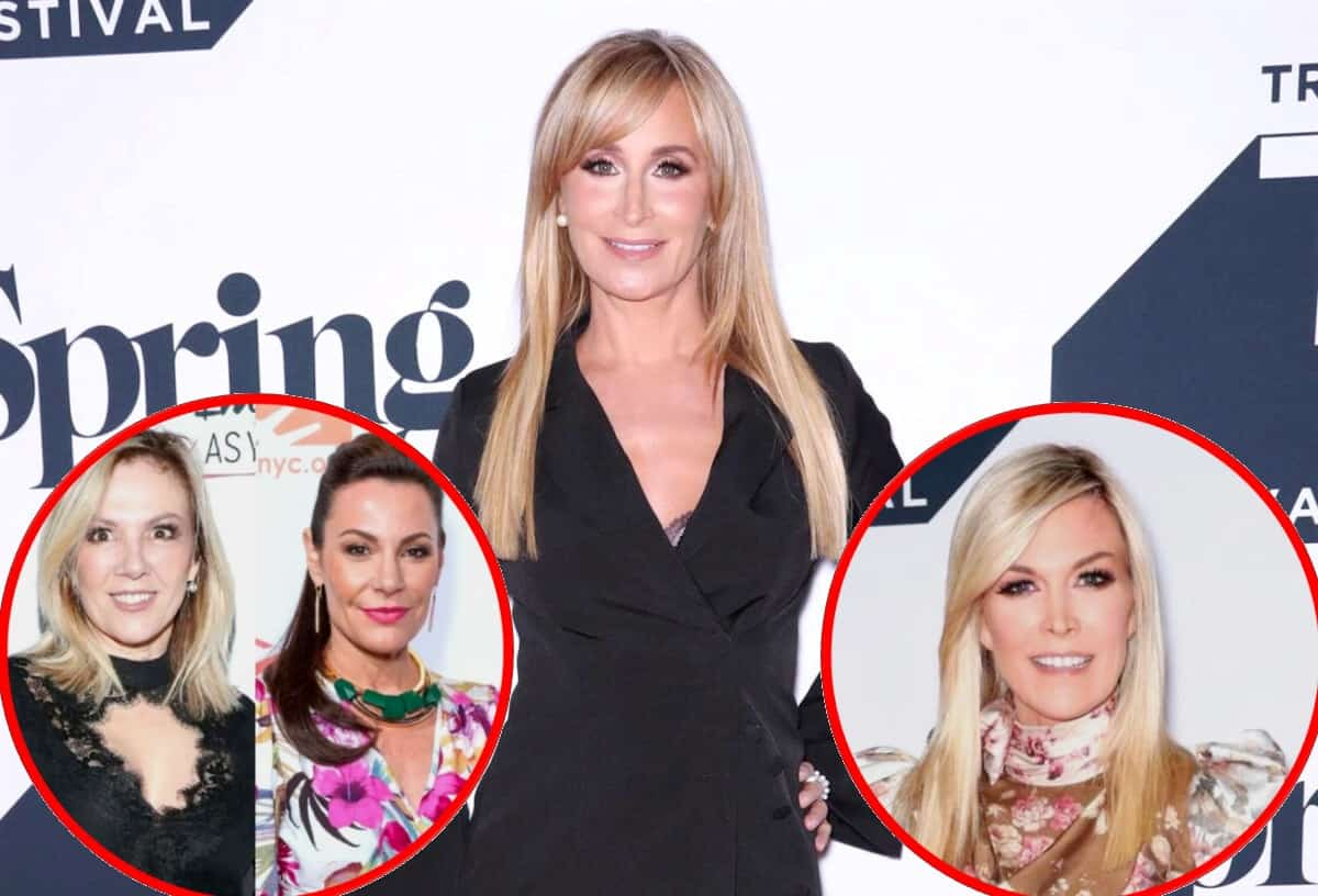 "EXCLUSIVE: RHONY's Sonja Morgan on Why She's ""Envious"" of Ramona Singer and Luann de Lesseps, Reacts to Tinsley's Engagement and Explains Her ""Rash"" Comment About Leah"