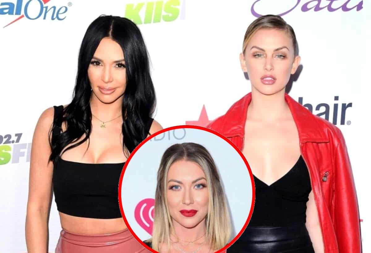 "Vanderpump Rules' Scheana Marie Slams Lala Kent and Stassi Schroeder for Thinking They're Better Than Her and Being ""Condescending"" and ""Patronizing"" as Lala Explains Why Scheana Keeps Looking ""Crazy"" on the Show and Encourages Her to ""Grow Up"""