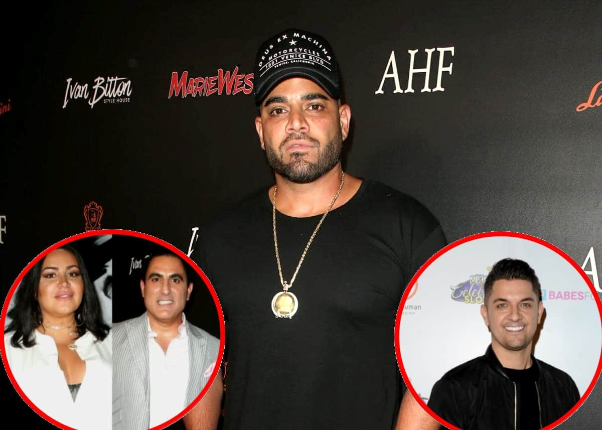 "EXCLUSIVE: Shahs of Sunset's Mike Shouhed Fires Back at Reza's ""Disgusting"" Claim About Him Lying and Reveals Where He Stands With Reza and MJ, Plus Offers Update on Nema Vand Feud and Talks Reunion"