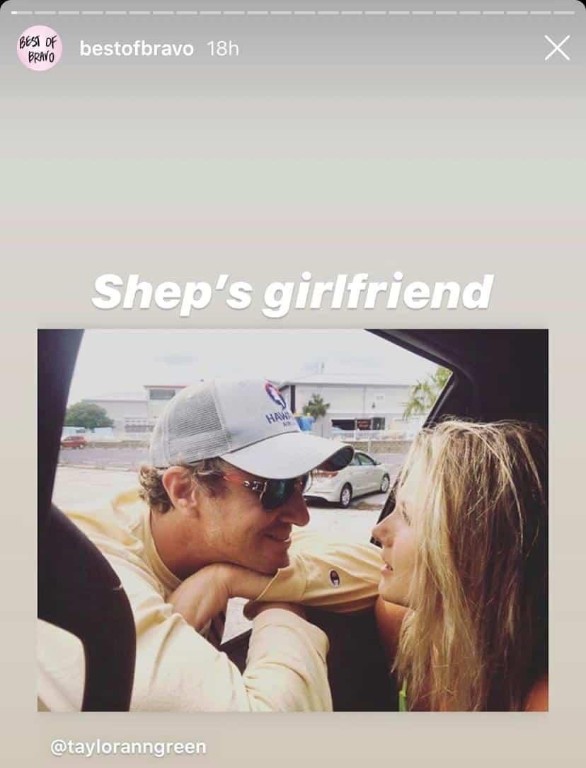 Shep Rose and New Girlfriend Taylor Ann Green