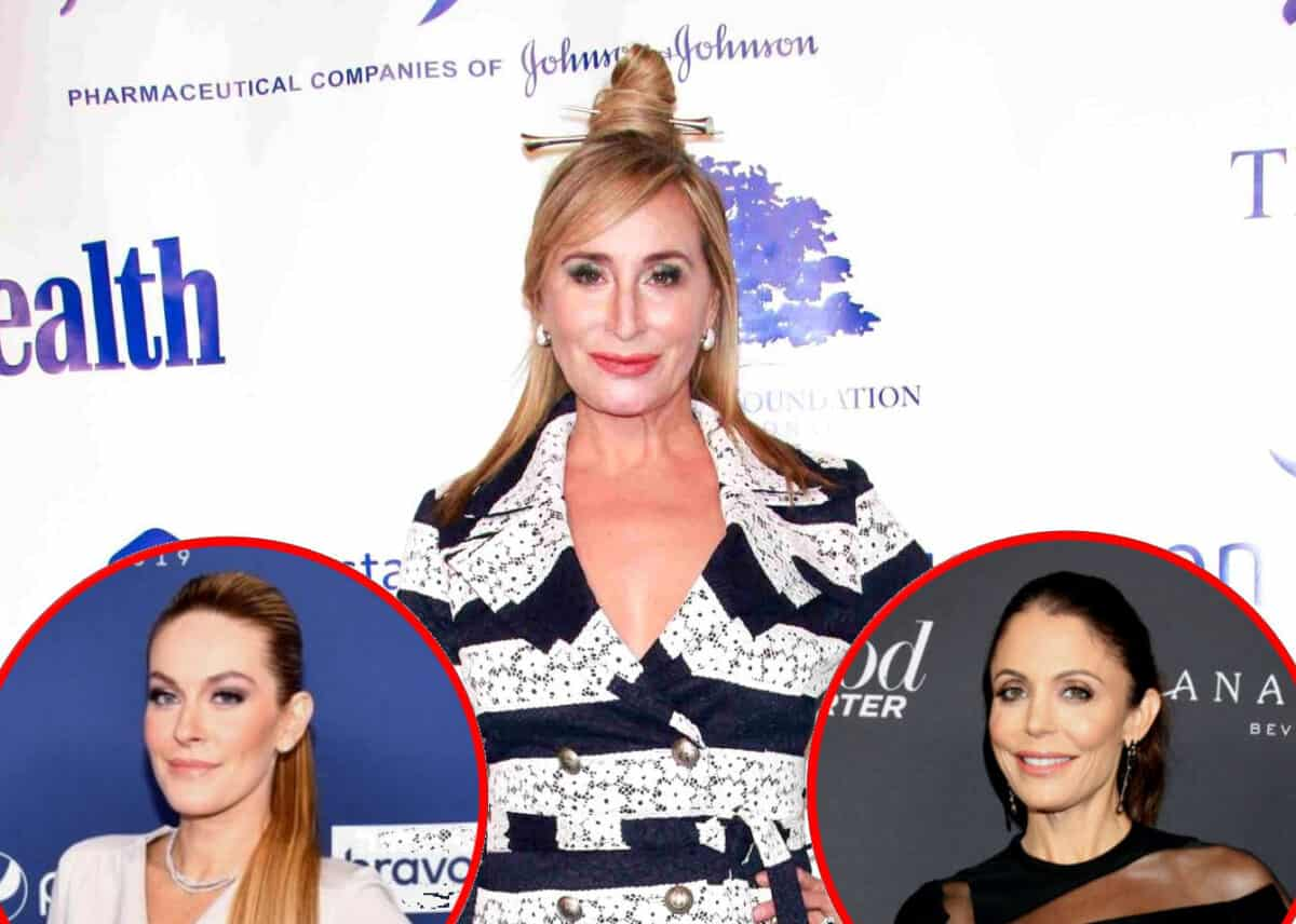 """RHONY Star Sonja Morgan Compares Leah McSweeney to a """"Rash"""" and Says She Could """"Never Replace"""" Bethenny Frankel"""
