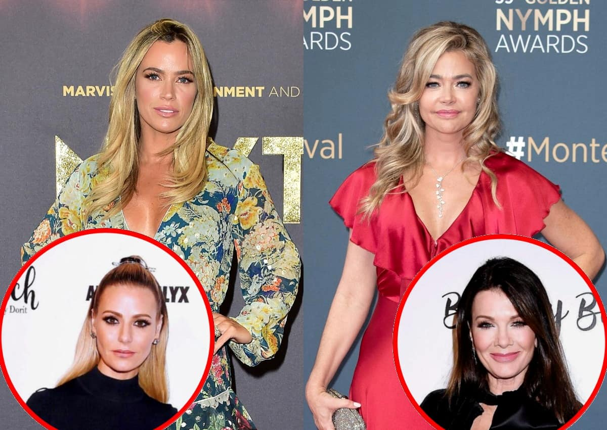 "RHOBH's Teddi Mellencamp Responds to Denise Richards' 'Bravo, Bravo, Bravo' Post on Twitter and Claims Dorit Kemsley Loves Call Her Names, Plus Reflects on Puppy Gate ""Beating"" and Throws Subtle Shade at Lisa Vanderpump"