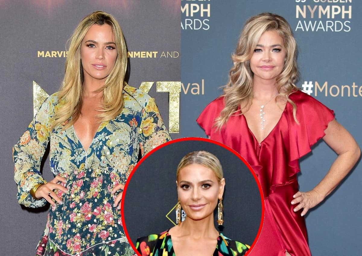 "RHOBH Star Teddi Mellencamp Slams Denise Richards' Choice to Stop Filming and Denise Claps Back With an Accusation! See Her Tweet Plus Teddi Reacts to Dorit Calling Her ""Judgmental"""