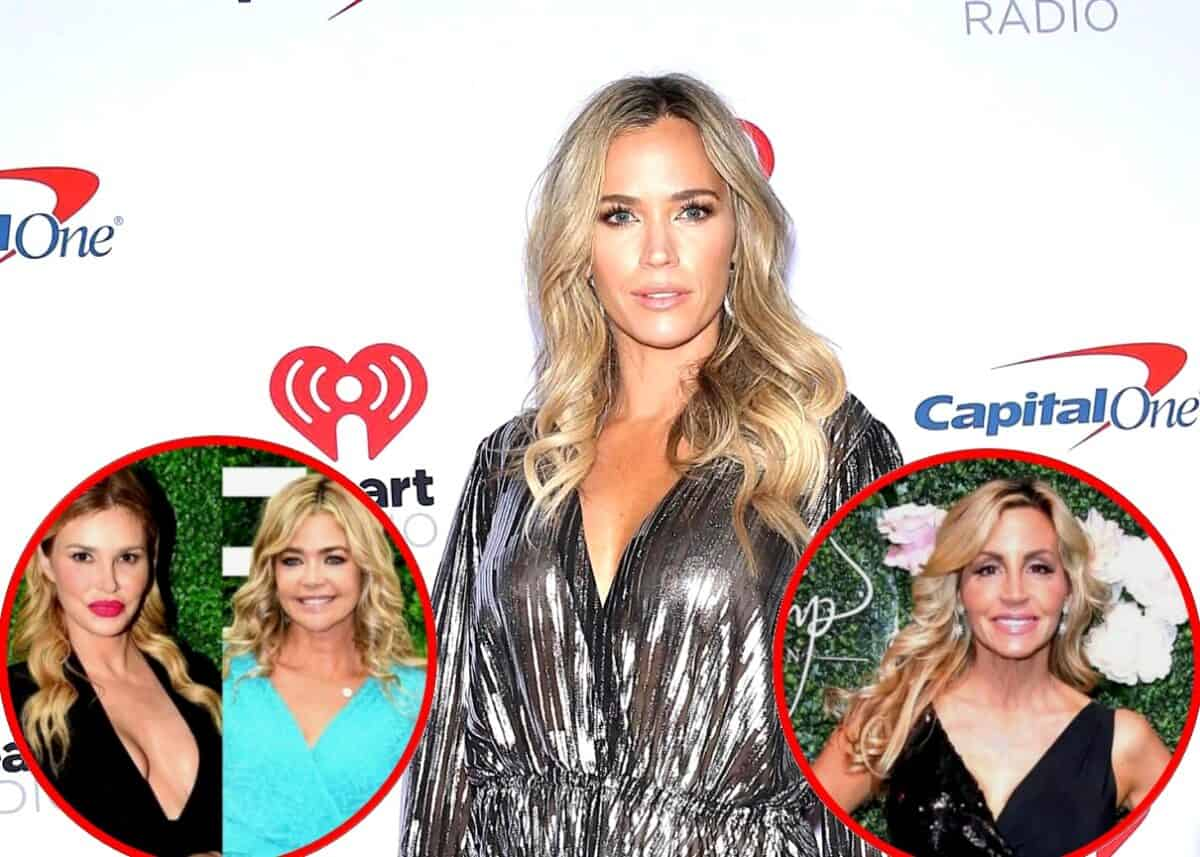 RHOBH's Teddi Mellencamp Accuses Denise Richards and Brandi Glanville of Leaking Stories, Plus She Throws Shade at Camille's Twitter Use