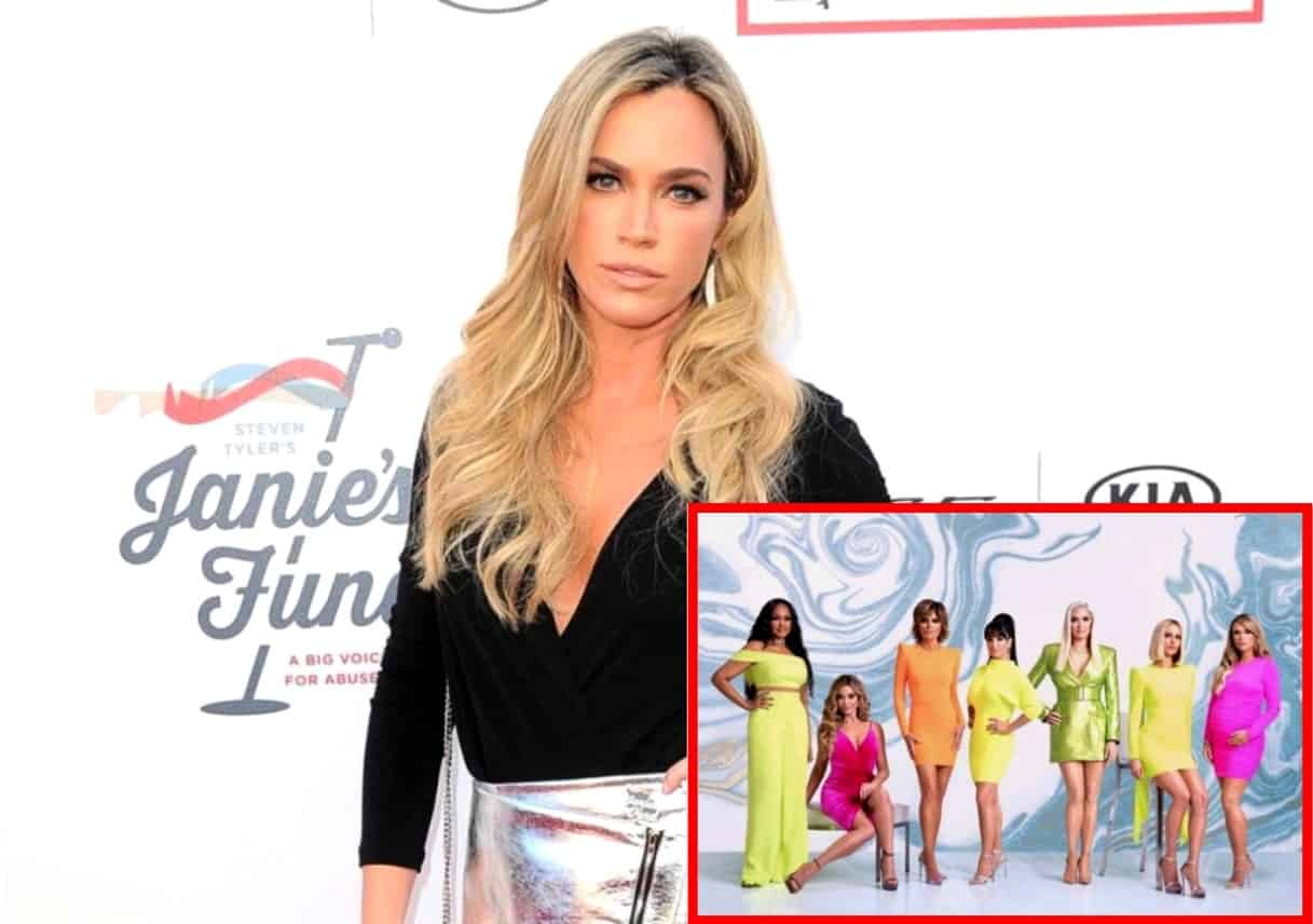 Teddi Mellencamp Addresses Text Message Drama With RHOBH Costars and Reveals if She's On Good Terms With Them, Shares Her Thoughts on Upcoming Dinner Party Debacle