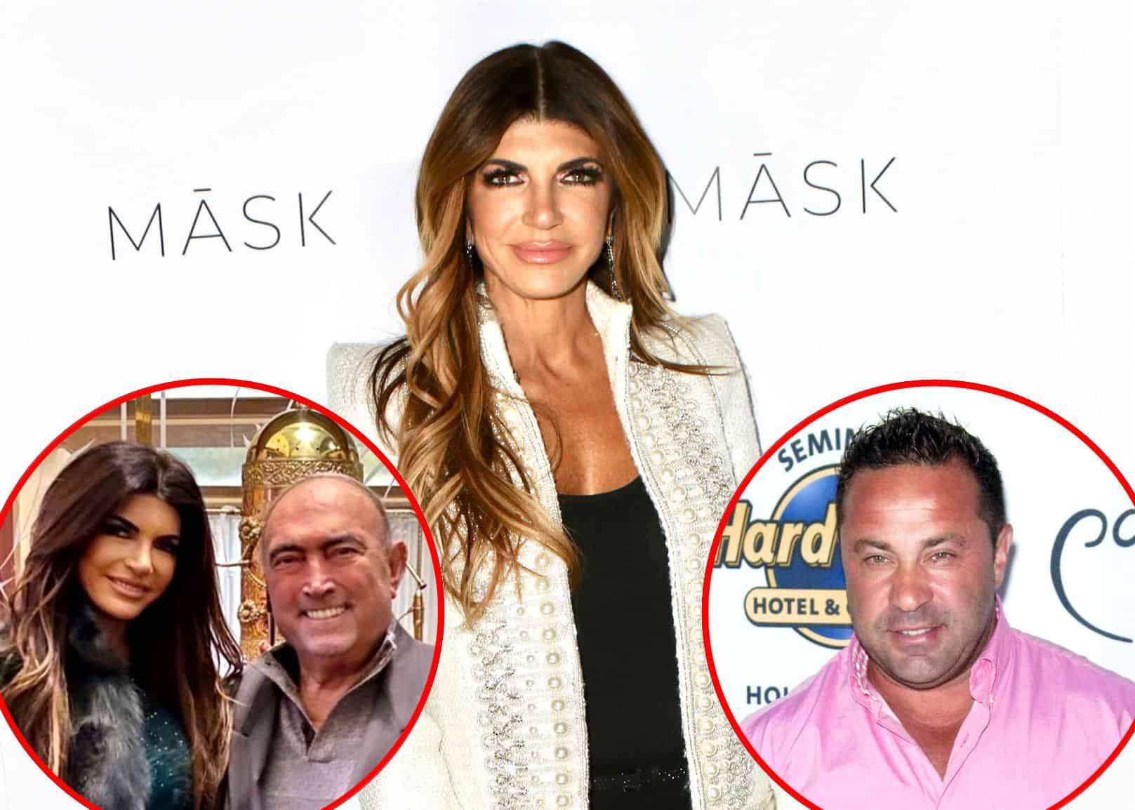 "Here's How a ""Devastated"" Teresa Giudice is Coping With the Sad Death of Her Father as the RHONJ Star Leans on Ex Joe Giudice for Support, Plus Joe's Crushed He Can't Be There for Family as Giacinto Gorga's Cause of Death is Revealed"