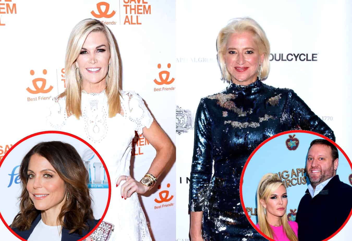 "RHONY's Tinsley Mortimer Slams Dorinda Medley as ""Obsessive"" and ""Insulting"" as She Discusses Their Feud, Plus She Dishes on Bethenny's Departure and New Life in Chicago With Scott"