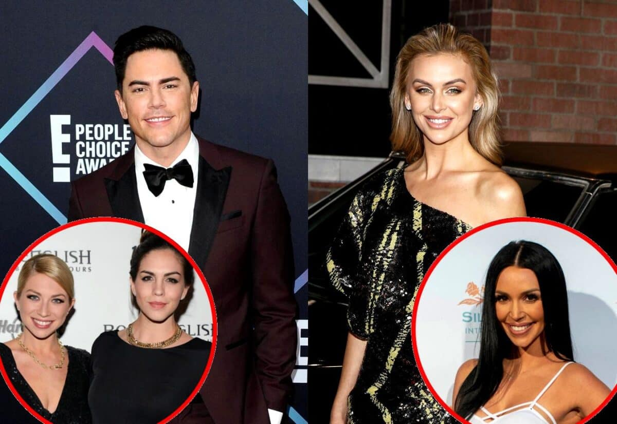 Vanderpump Rules' Tom Sandoval Claims Lala Kent's Publicist Advised Her to Be Friends With Stassi and Katie and Shares New Details on Stassi Feud as Scheana Reacts to Being Left Out of Lala's Wedding Party
