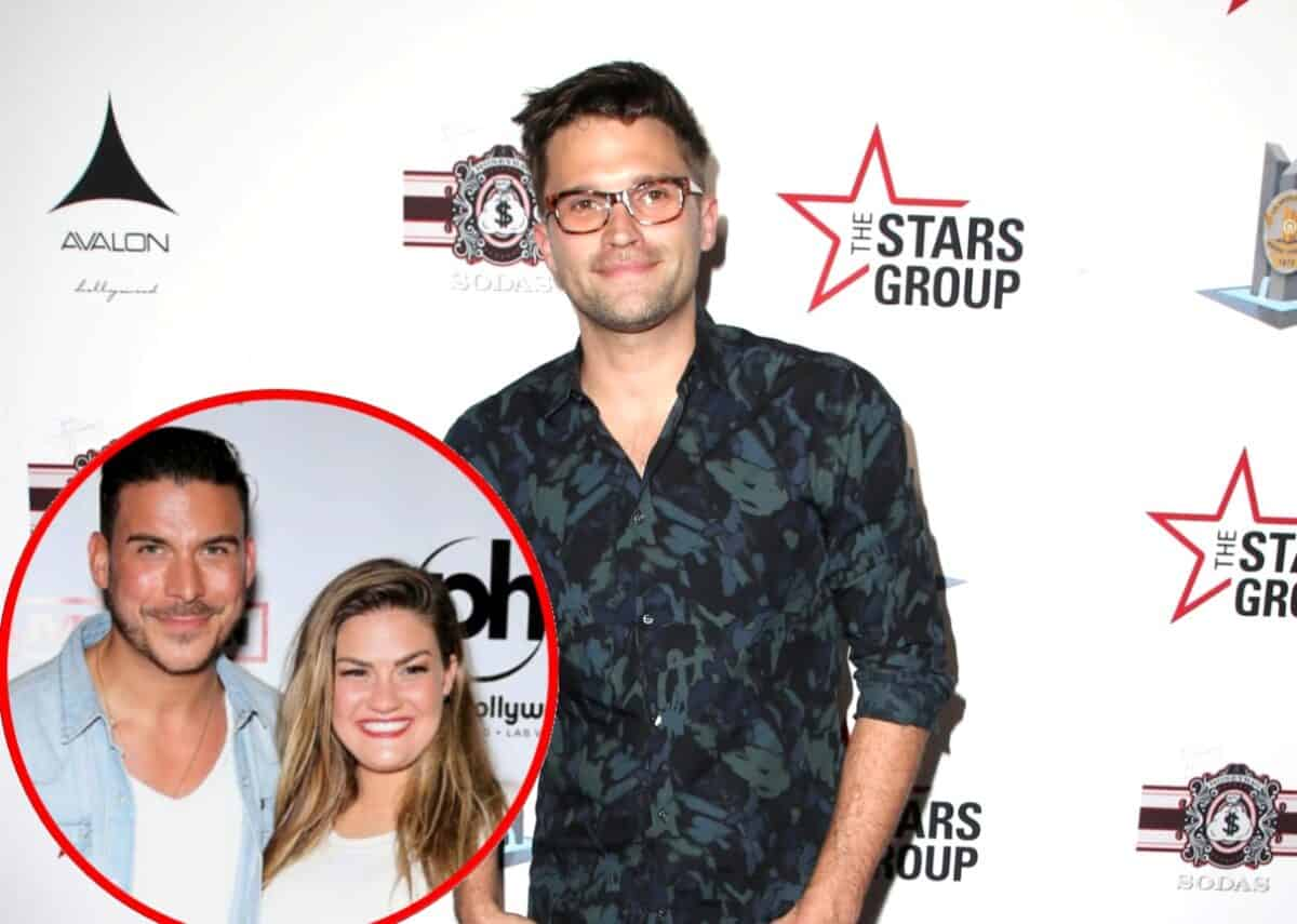 "Tom Schwartz Talks Pump Rules Fans Having ""Fatigue"" Over Jax and Brittany's Wedding, Discusses Devastation Caused to TomTom from Coronavirus and What Went Wrong With His Marriage License"