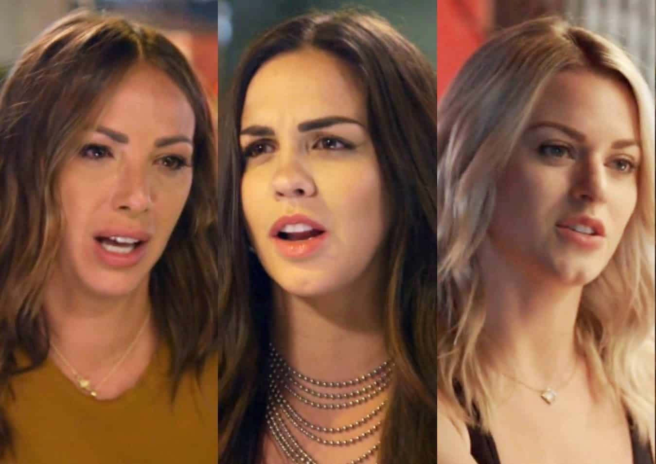 Vanderpump Rules Recap: Katie Bans Kristen From Wedding as Dayna Shares a Kiss With Brett