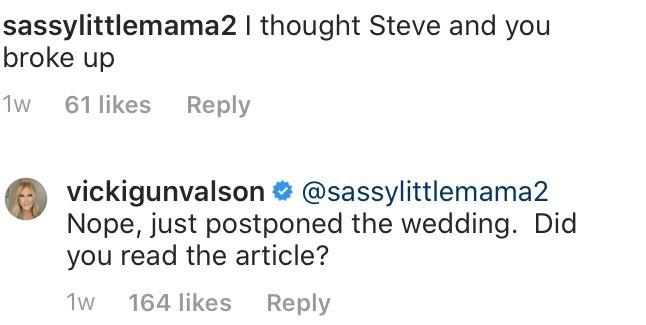 RHOC Vicki Gunvalson Confirms She and Steve Lodge Didn't Split