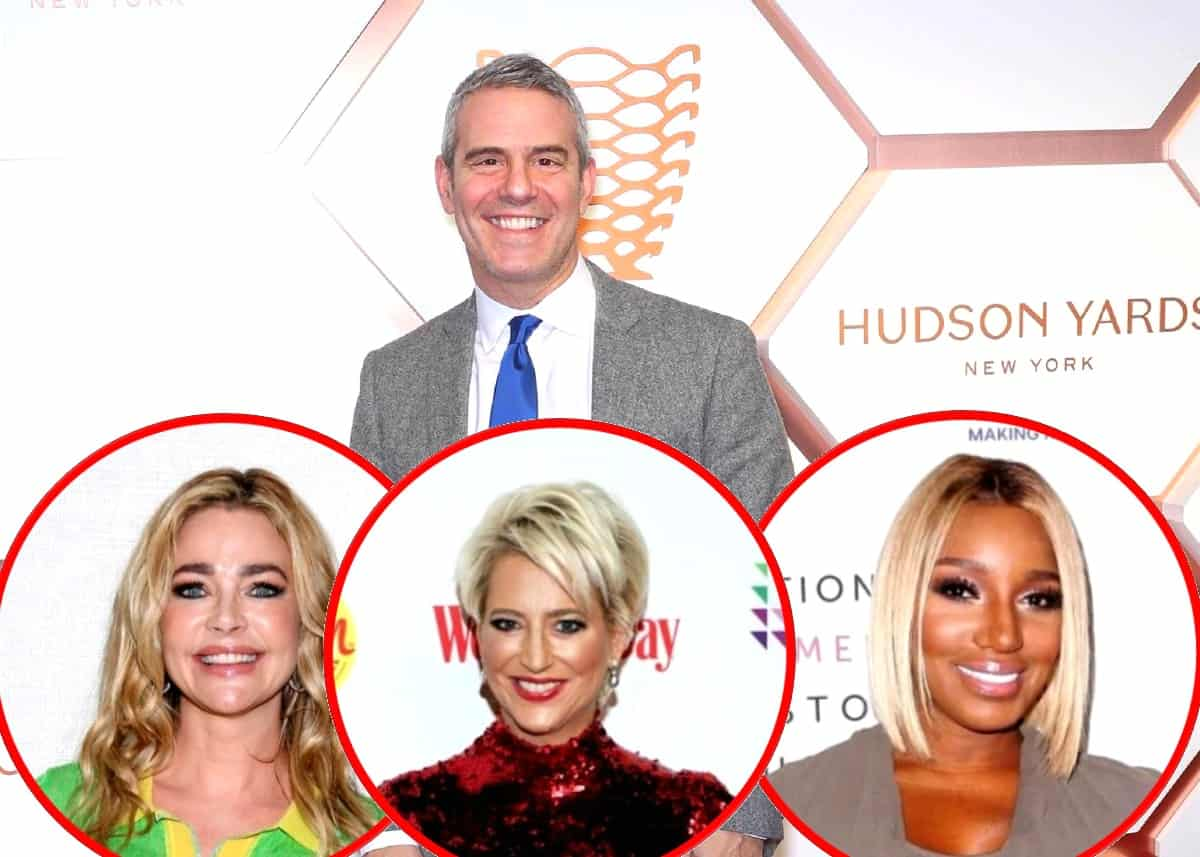 "Andy Cohen Dishes on Denise's RHOBH Drama, Dorinda's ""Villain"" Persona on RHONY and Nene Storming Off RHOA Reunion, Plus He Talks Filming Delays on RHOD, RHOC, and RHONJ and the RHOSLC's Premiere"